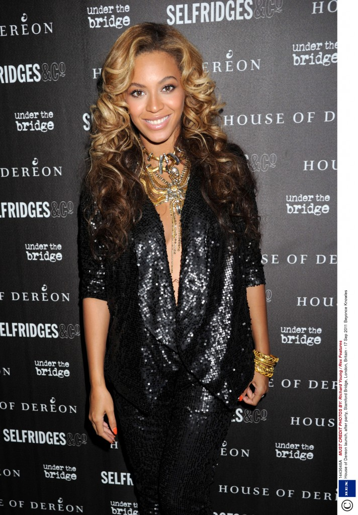 House of Dereon launch, after party, Stamford Bridge, London, Britain - 17 Sep 2011