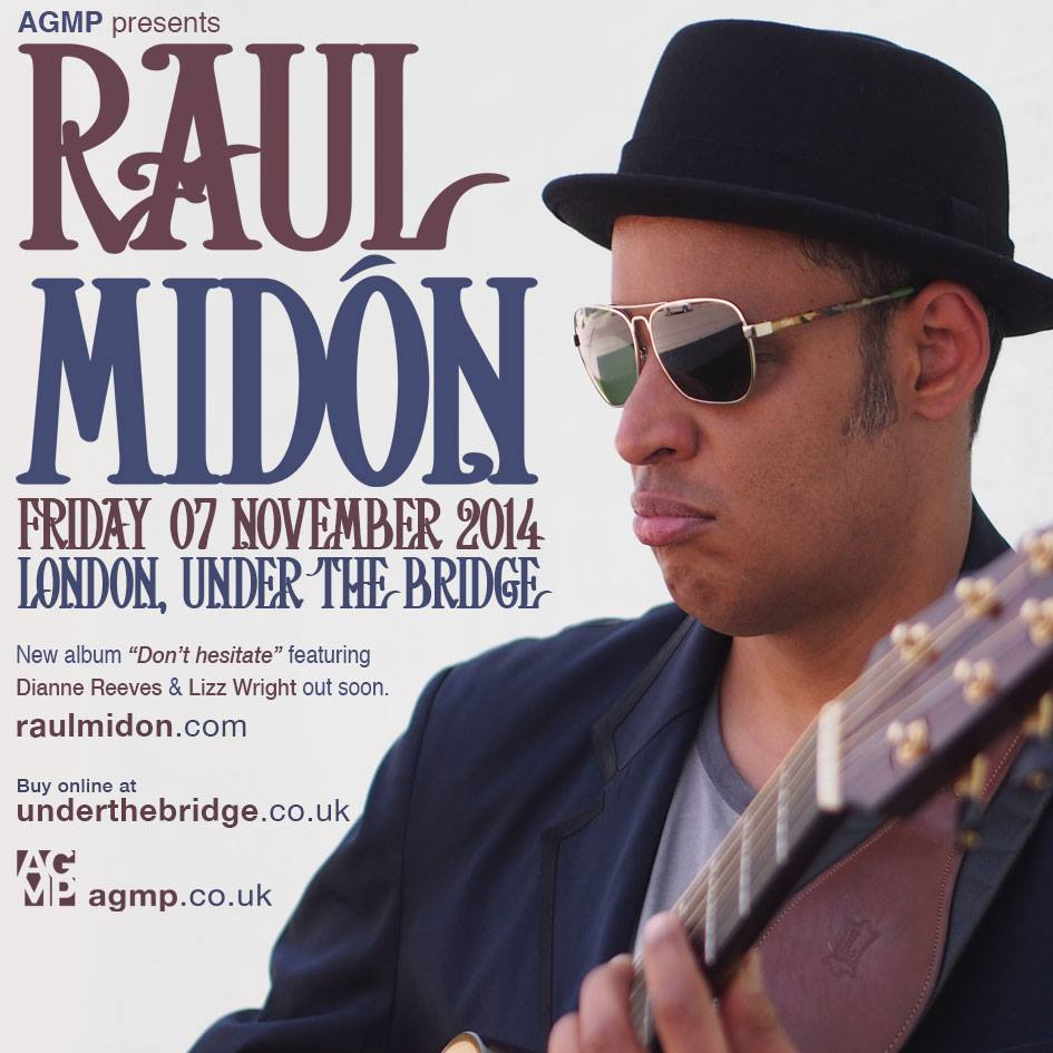 Raul Midon London Concert Under the Bridge