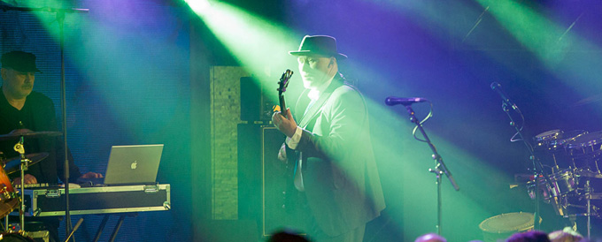 Jah Wobble Pictures Live London Under the Bridge
