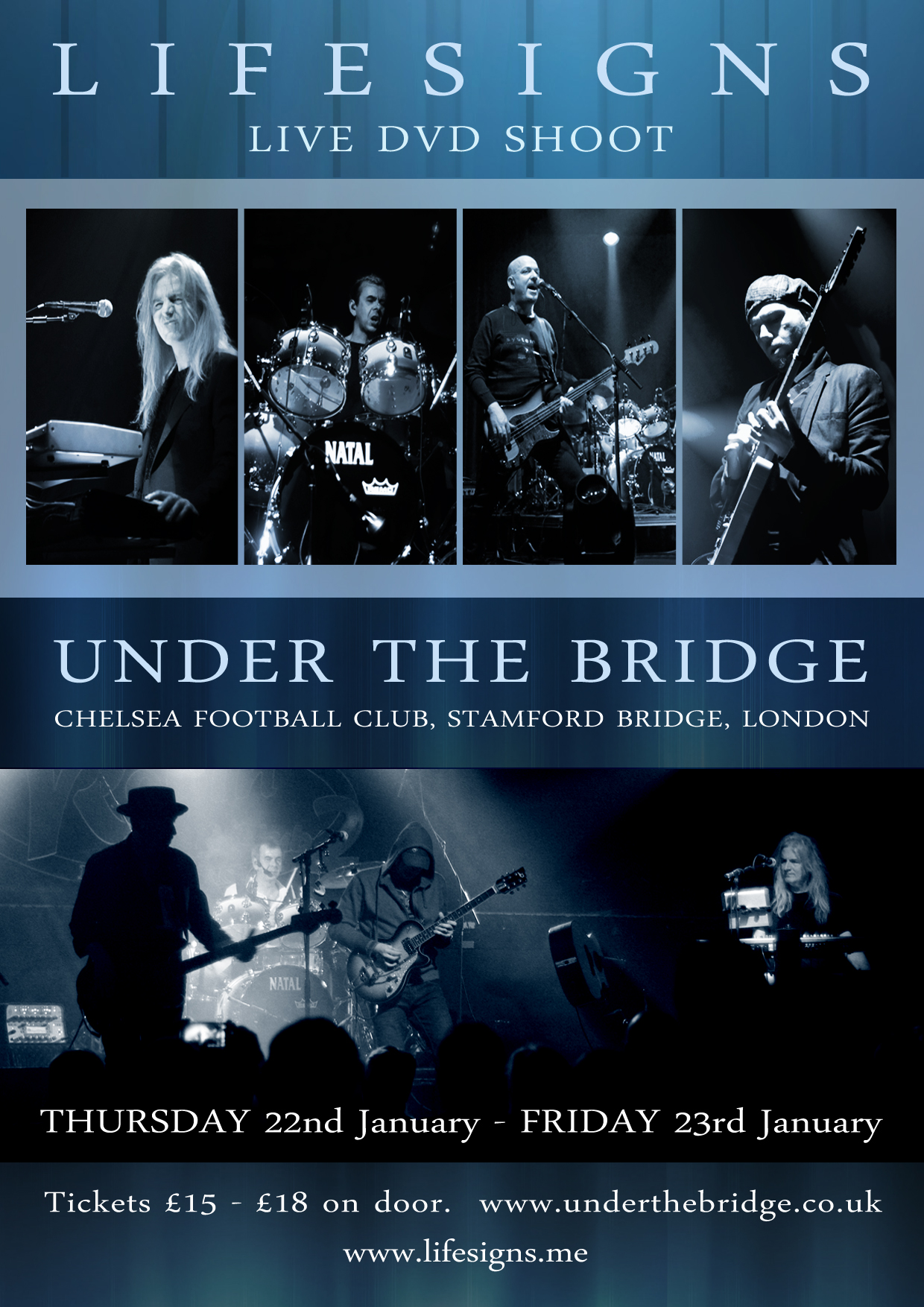 Lifesigns Under the Bridge London 2015