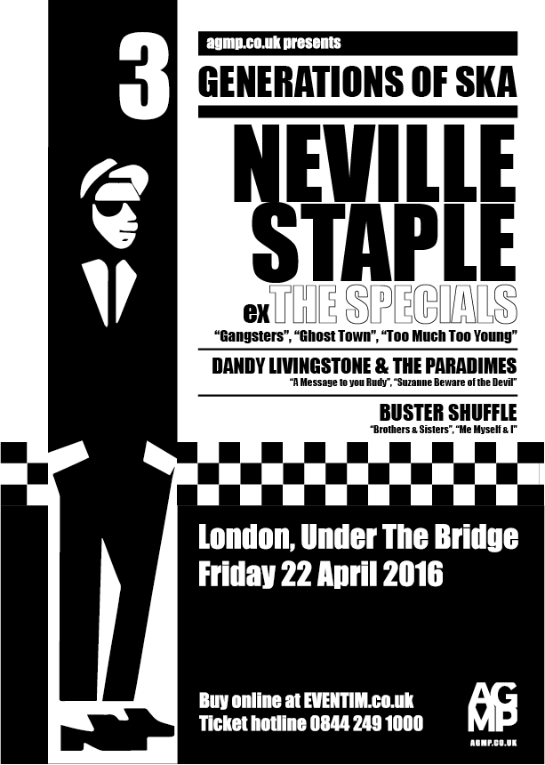 Neville Staple 2016