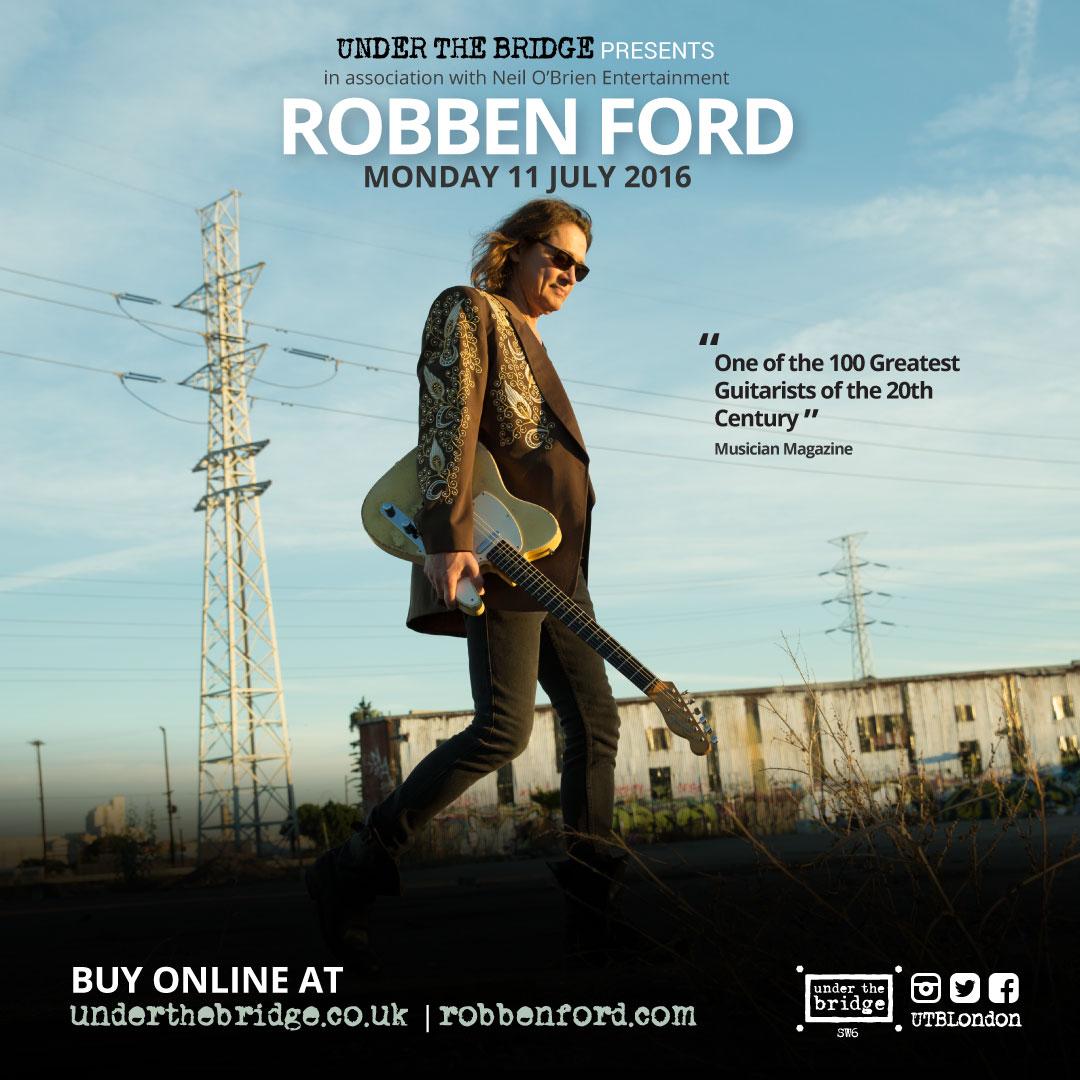 Robben Ford Under The Bridge